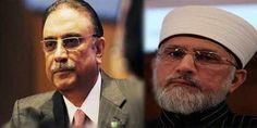 Zardari Calls Twice To Dr. Tahirul Qadri