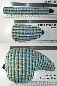 03 – Seam Roll, Tailor's Pressing Ham, and Contoured Ham by Seemane, via Flickr
