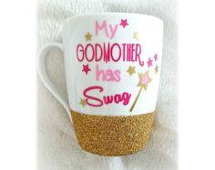 Godmother Gift God Mother Gift Godmother Mug by LoveInTheCityShop