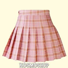 Plaid Pleated Mini Skirt, Plaid Mini Skirt, Plaid Skirts, Women's Skirts, Girl Skirts, Flared Skirt, Style Casual, Preppy Style, Harajuku