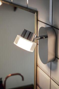 silber Philips myBathroom LED Wandleuchte Seabird