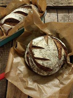 chleb z Vermont, chleb Hamelmana, chleb na zakwasie, zakwasowiec, pieczywo na zakwasie żytnim, chleb wg Hamelmana