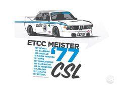 Bmw CSL '77