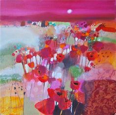 Emma Davis #floral #botanical #art #painting