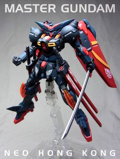 Custom Build: HG 1/144 Master Gundam - Gundam Kits Collection News and Reviews