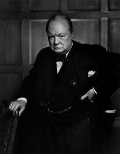 Coyote Atelier photography inspiration: Yousuf Karsh. Portrait of Winston Churchill, 1941.