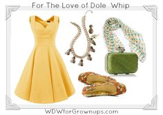 A Dreamy Date Night Ensemble Inspired By Dole Whip