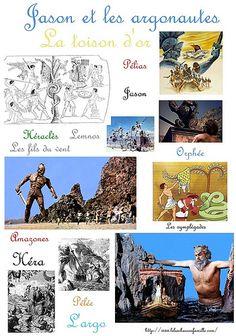Jason et les argonautes (Métamorphoses d'Ovide - livre 7)