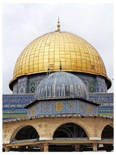 Islamic architecture – Masjid Qubbat as-Sakhrah in Palestine by اللّهُمـَّآرزُقنآحُـسنَالخَآتِمة on 500px