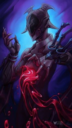 Warframe - Gore Queen Garuda by Kanoro-Studio on DeviantArt Character Concept, Character Art, Character Design, Warframe Tenno, Warframe Wallpaper, Warframe Art, Futuristic Art, Dark Souls, Dark Art