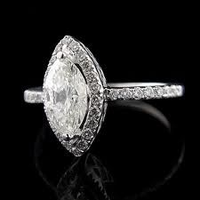 marquise engagement ring, with or without the halo