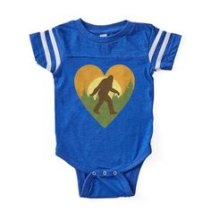 d039b58ff948 CafePress Bigfoot Love Baby Football Bodysuit (324159708)  fashion  clothing   shoes  accessories  babytoddlerclothing  unisexclothingnewborn5t (ebay  link)