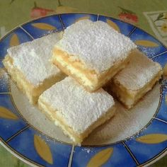 Vaníliás túrós pite recept Food For A Crowd, Something Sweet, Cornbread, French Toast, Muffins, Cheesecake, Food And Drink, Dairy, Sweets