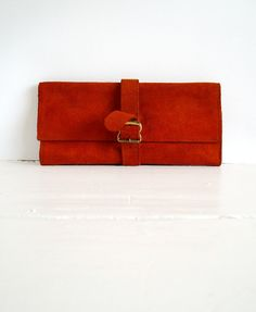 I really like the idea of a suede purse, wallet, or clutch. Especially for fall!