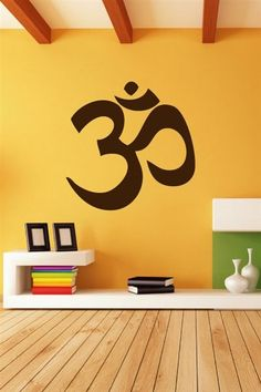 Wall Decals  Hindu Om COOLL!! for my yoga room someday...