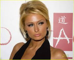 Sorry it's Paris Hilton but her face is a similar shape to yours.