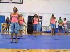 Gamma Sigma Chapter of Alpha Kappa Alpha Sorority, Inc. @ Albany State University stepping during Skee Week 2007.