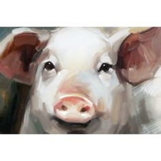 Pig Painting - close up my beastie would love that! @heathercurry