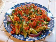 Cuban Style Avocado Salad