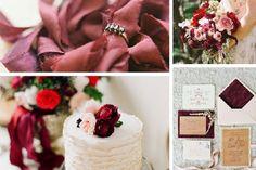 Decoración de boda en marsala #Tendencias2015