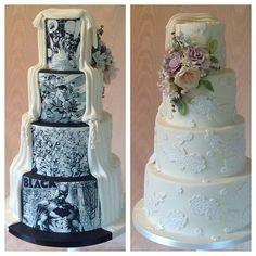 Comic wedding cake - Batman Wedding - Ideas of Batman Wedding - Comic wedding cake wedding cake Batman Wedding Archives Gamer Wedding Cake, Superhero Wedding Cake, Batman Wedding Cakes, Marvel Wedding, Comic Book Wedding, Floral Wedding Cakes, Amazing Wedding Cakes, Fall Wedding Cakes, Wedding Cake Toppers