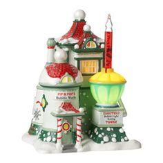 Pip & Pop's Bubble Works, North Pole Village (#0001)