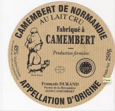 La boite en peuplier, traditionnel emballage du camembert normand