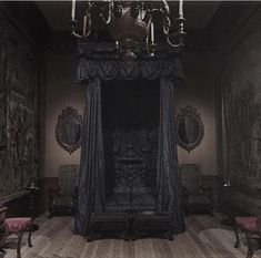 Victorian Gothic style interior old mansion interior pictures gothic glam bathroom bedroom Old World office library row house Victorian interior Gothic Room, Gothic Mansion, Gothic House, Victorian Gothic Decor, Gothic Bed, Vintage Gothic, Haunted Mansion, Goth Bedroom, Baroque Bedroom