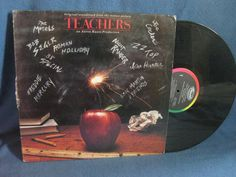 Vintage Teachers Original Soundtrack Vinyl LP by sweetleafvinyl