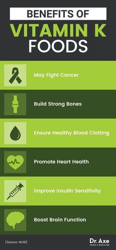 benefits of vitamin k foods dr axe