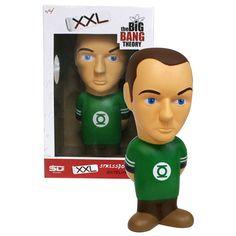 Big Bang Theory Sheldon Cooper 15 3/4-Inch Stress Toy