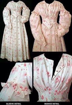 Summer Dress. 1840's