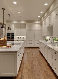 Types of Cabinets That Go with Delicatus Granite with Black Lines for Transitional Kitchen and Contemporary Shaker Cabinets