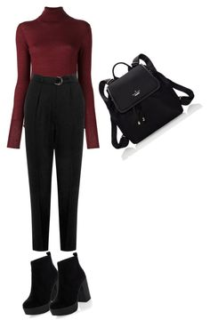 """""""Nothing special"""" by monochromeac ❤ liked on Polyvore featuring Joseph, Warehouse, New Look and Kate Spade"""