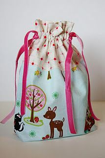 Cute drawstring bag