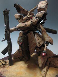 RE 1/100 Desert Nightingale Assault Weapon System by baby1973   Gundam Century
