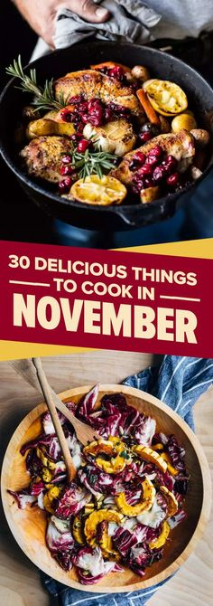 30 Delicious Things You Should Eat In November
