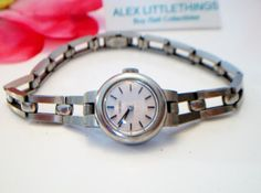 vintage Ladies Seiko wrist watch by ALEXLITTLETHINGS on Etsy, $10.50
