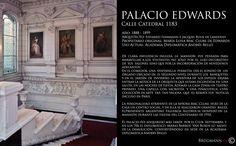 Palacio Edwards  Calle Catedral 1183, Santiago de Chile.