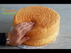 Pasta Cake, Home Bakery, Sponge Cake, Cake Recipes, Dessert Recipes, Cheesecake, Food And Drink, Bread, Cookies