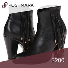 """Matisse x Kate Bosworth Fringe Boots NO TRADES l brand new in box l crafted with premium leather / heel height: 3 1/4"""" Free People Shoes Ankle Boots & Booties"""