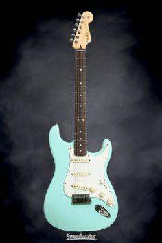 Fender Custom Shop Jeff Beck Signature Stratocaster - Surf Green | Sweetwater.com