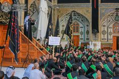 Atmosphere öf the shrine of MAULA Ali A.S on the martyrdom of Imam Sajjad ( A.S.W.S ) #Safar #ayameazaa