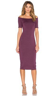 Rachel Pally Jagger Midi Dress in Currant | REVOLVE