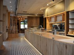 Interior Design, bakery and café, shop design and realisation by artdentity