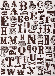CI Alphabet Stickers   por Creature Comforts