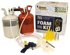 Professional Grade Spray Foam Insulation Kits.