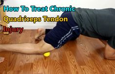 How To Treat Chronic Quadriceps Tendon Injury. Proper treatment of chronic quadriceps tendon injury or quadriceps tendonosis / quadricep tendinopathy by mobilizing or breaking down scar tissue and improving circulation.#quadriceps #tendoninjury #injury http://www.tridoshawellness.com/treatment-quadriceps-tendonitis/