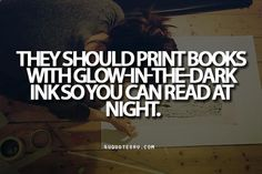 Would be PERFECT for those who like to read print instead of from a hand-held device!