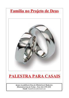 Família no Projeto de Deus  PALESTRA PARA CASAIS Igreja Assembléia de Deus do Ministério de Madureira Missionária Lina de ...
